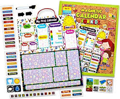 Kraftzlab Magnetic Kids Calendar And Chore Chart 51