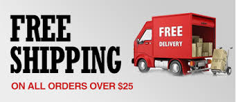 Image result for over 25 free shipping
