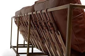 portfolio stephen kenn x danfield inc brown leather sofa the inheritance collection