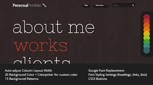 Portfolio Website Templates Mesmerizing Personal Portfolio Creative Website Template By Yashma ThemeForest
