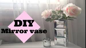 Diy mirror vase/dollar tree items