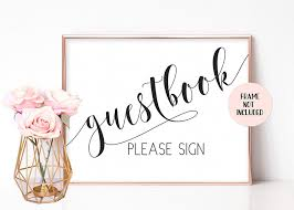 Sign Book For Wedding Fancy And Flair Guestbook Wedding Sign Wedding Guest Book Wedding Signs Rustic Please Sign Our Guestbook Sign Guestbook Table Sign Wedding