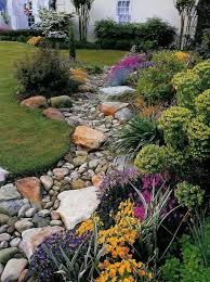 Dry Stream Garden Design How To Install A Dry Creek Bed Backyard Landscaping