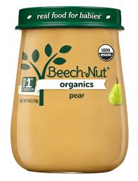 Beech-Nut® <b>Organics pear</b> Stage 1 <b>Organic Baby Food</b>