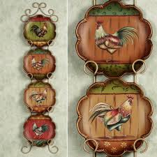 Decorative Kitchen Wall Plates Rooster Decor For Kitchen Designalicious