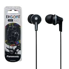 <b>Panasonic RP</b>-<b>HJE125E</b>-K Ergo Fit In-<b>Ear Headphones</b> | 7dayshop