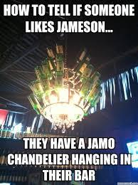 generate a meme using jamo chandelier