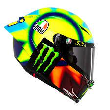 Purchase agv valentino rossi helmets from sportbiketrackgear.com. Hear The Story Behind Valentino Rossi S New Soleluna 2021 Helmet
