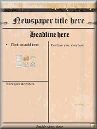Old Newspaper Article Template Old Newspaper Template Fake Article Generator With Photo Post