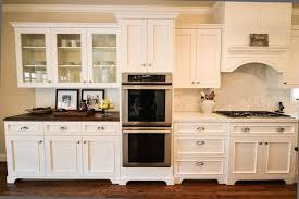 two toned cabinet pulls unlikely tone countertops french kitchen cote de texas home ideas 2