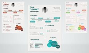 Graphic Resume Templates Interesting 28 Best 28's Creative ResumeCV Templates Printable DOC