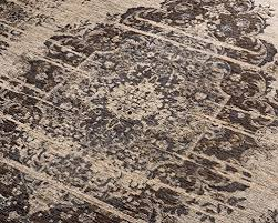 naturalarearugs arbor vintage turkish polyester cotton rug traditional stain resistant durable non slip latex backing