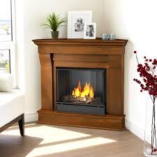 real flame cau corner ventless gel fireplace espresso com
