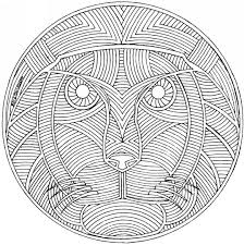Small Picture Mandala Coloring Pages Medium Coloring Pages