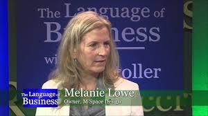The Language of Business: Melanie Lowe - YouTube
