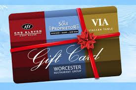worcester restaurant group gift card 100