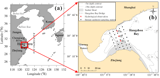 Water   Free Full-Text   Transport Mechanism of Suspended Sediments and  Migration Trends of Sediments in the Central Hangzhou Bay