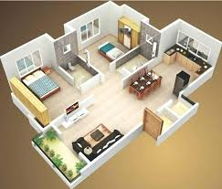 house plans with interior photos. 2 Bedroom With Garage Delightful Two House Layout Design Plans Interior Ideas Simple Plan Photos
