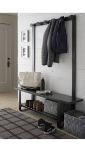 Modern Hall Tree Coat Rack Welkom Hall Tree Bench with Coat Rack Crate and Barrel Tree 8