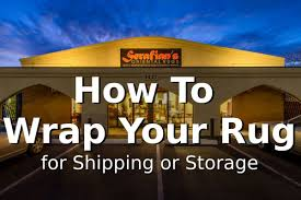 how to wrap your oriental rug for or storage serafian s oriental rugs albuquerque nm