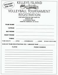 Tournament Sign Up Sheets List Of Previous Cleveland Area Volleyball Tournaments
