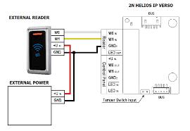 2n external rfid reader interoperability manual hid proxpoint plus wiring diagram at Wiegand Reader Wiring Diagram