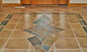 stone floor tiles. Colored Tile And Stone Entry Way Floor Tiles