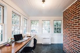 Sunroom Office Design How To Transform An Unheated Minnesota Porch Into A