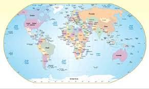 Контурные карты мира с заданиями по географии и класса  карты мира 7 и 10 класс география
