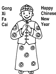 Small Picture Chinese New Year Coloring Pages Printable New Year Coloring