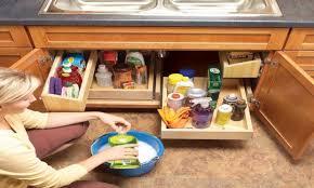 kitchen sink storage solutions terraneg