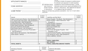 Personal Assets And Liabilities Statement Template Personal Assets And Liabilities Worksheet Schedule Of Template