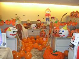 fall office decorating ideas. best halloween cubicle decorating of all time fall office ideas
