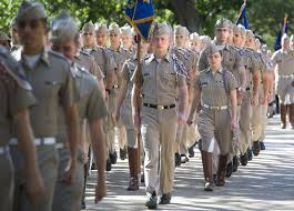 Texas A M Corps Of Cadets Corps Of Cadets Face Final Review News Theeagle Com