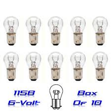 Light Bulb Compatibility Chart Details About 1158 6 Volt 6v Tail Light Brake Stop Turn Signal Lamp Bulbs Box Of 10