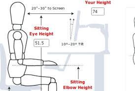 desk ideal standing desk height ideal standing desk monitor for popular household stand up desk height designs