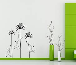 Small Picture StickONmaniacom Vinyl Wall Decals Abstract Dandelion Design