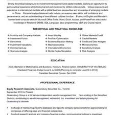 Tax Analyst Resume Sample financial research analyst equity research resume sample financial 46