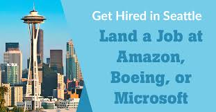 Microsoft Candidate Interest Form How To Land A Job At Amazon Boeing Or Microsoft In Seattle