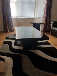 black marble coffee table from scs virtually identical to santorini model 1 of 4free
