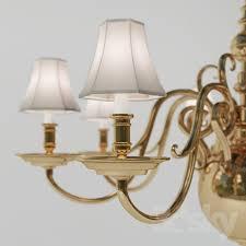 3d models ceiling light chandelier lillianne single tier chandelier circa lighting designer ralph lauren home