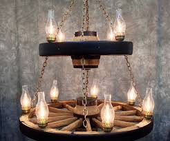 best wagon wheel chandelier lighting