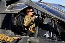 u s department of defense photo essay  u s army chief warrant officer 2 amanda combs prepares her ah 64 apache helicopter for