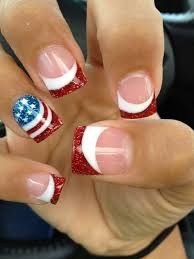 14 amazing american flag inspired nails