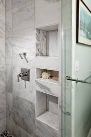 Two sizes of shower niches