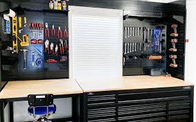 pegboard work bench storage ideas