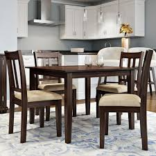 rustic kitchen dining room sets youll love wayfair chic dining table with chair