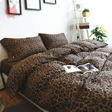 Sightly Leopard Print Duvet Cover Set Home Arel Animal Print Duvet ... & Groovy ... Adamdwight.com