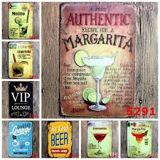 mojito cuba cuban cocktail vintage tin signs retro metal sign iron plate painting the wall decoration for bar cafe home club pub on vintage metal art wall decor with mojito cuba cuban cocktail vintage tin signs retro metal sign iron