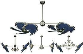 nautical ceiling fan with blue blades